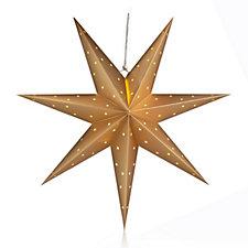 Bluebird & Bramble Pre-lit 70cm Hanging Paper Polar Star