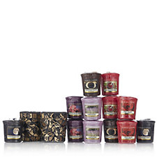 Yankee Candle Damask Mosaic Votive Holders with 12 Votives