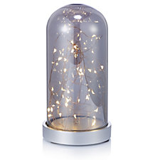 Bluebird & Bramble Irridescent Dome Bell with LED Rice Lights