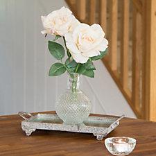 Peony Roses in a Vintage Vase