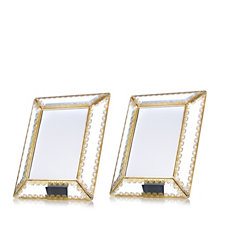 Alison Cork Set of 2 Glass Picture Frames