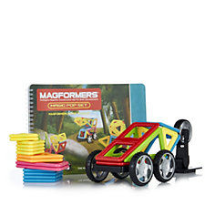 Magformers Magic Pop 25 Piece Set with Wheel Pack