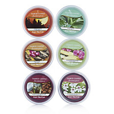 Yankee Candle Set of 6 Melt Cups Selection