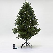 707469 - Santa's Best 68 Function Douglas Fir Christmas Tree