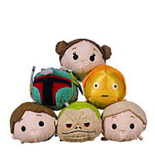 Star Wars Set of 6 Tsum Tsums Collection