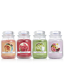 706570 - Yankee Candle Set of 4 USA Special Collectors Edition Large Jars