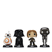 Star Wars Pop! Vinyl Set of 4 Figures