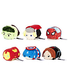 Marvel Set of 6 Avengers Tsum Tsums Collection