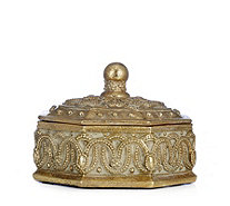 Alison Cork Set of 2 Decorative Trinket Boxes - 705573