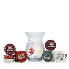 Yankee Candle Deck The Halls Melt Warmer with 15 Melts