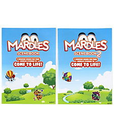 Mardles Set of 2 Scene Book &  Scene Book 2