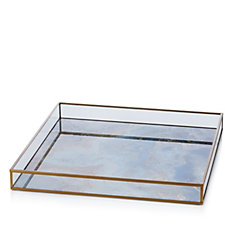 706675 - Home Reflections Marbled Glass Display Tray