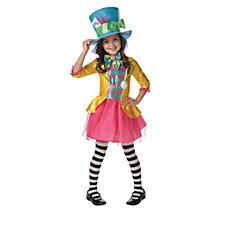 Disney Mad Hatter Girls' Costume