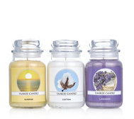 Yankee Candle Set of 3 All Things Fresh Large Jars