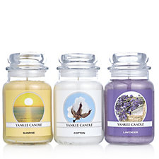 705677 - Yankee Candle Set of 3 All Things Fresh Large Jars