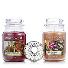 Yankee Candle Set of 2 Magic Oasis Large Jars with with Illuma Lid