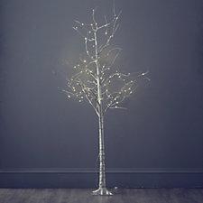 705078 - Alison Cork 180cm Pre-lit LED Glitter Tree