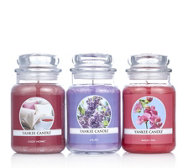 Yankee Candle Set of 3 Home Sweet Home Large Jars