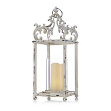 706779 - Alison Cork Lantern with LED Candle