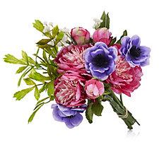 Peony Anemones & Peonies Bouquet