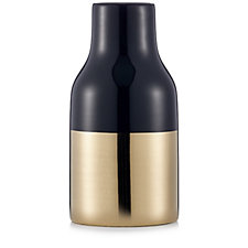 Kelly Hoppen Black & Gold Bottle Vase