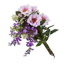 Peony Rose & Wisteria Bouquet