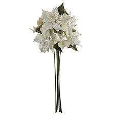 Alison Cork Set of 6 69cm Poinsettia Stems