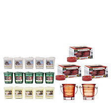 Yankee Candle 53 Piece Pure Essence Winter T-light & Votive Collection