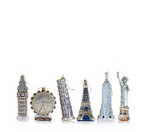 Alison Cork Set of 6 Around the World Decorations - 704782