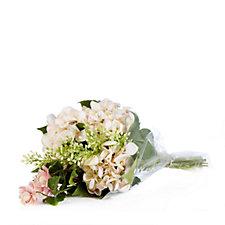 Peony Hydrangea & Boxwood Bouquet