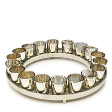 Alison Cork Votive Centrepiece with 18 Tea-light Holders
