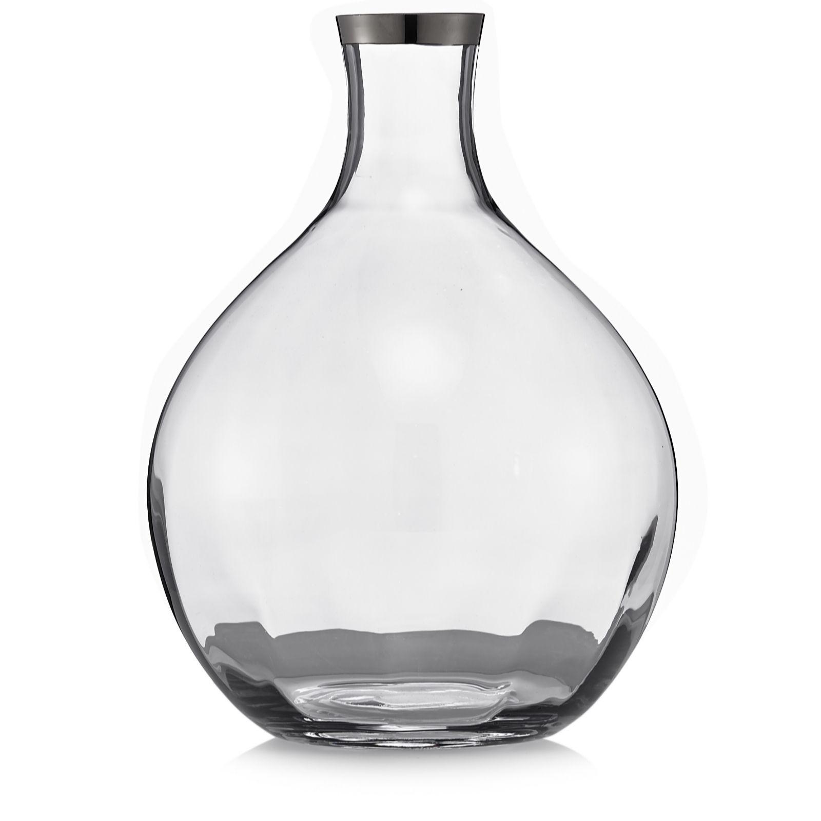 Kelly hoppen lustre glass bottle vase qvc uk reviewsmspy