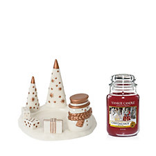 Yankee Candle The Perfect Christmas Large Christmas Magic Jar & Holder