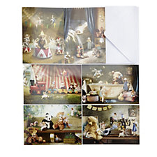 Charlie Bears Pack of 12 Illustrated Everyday Cards