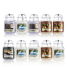 Yankee Candle Set of 10 Car Jar Ultimate Collection