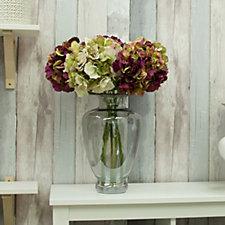 708286 - Peony Hydrangeas in Grecian Vase
