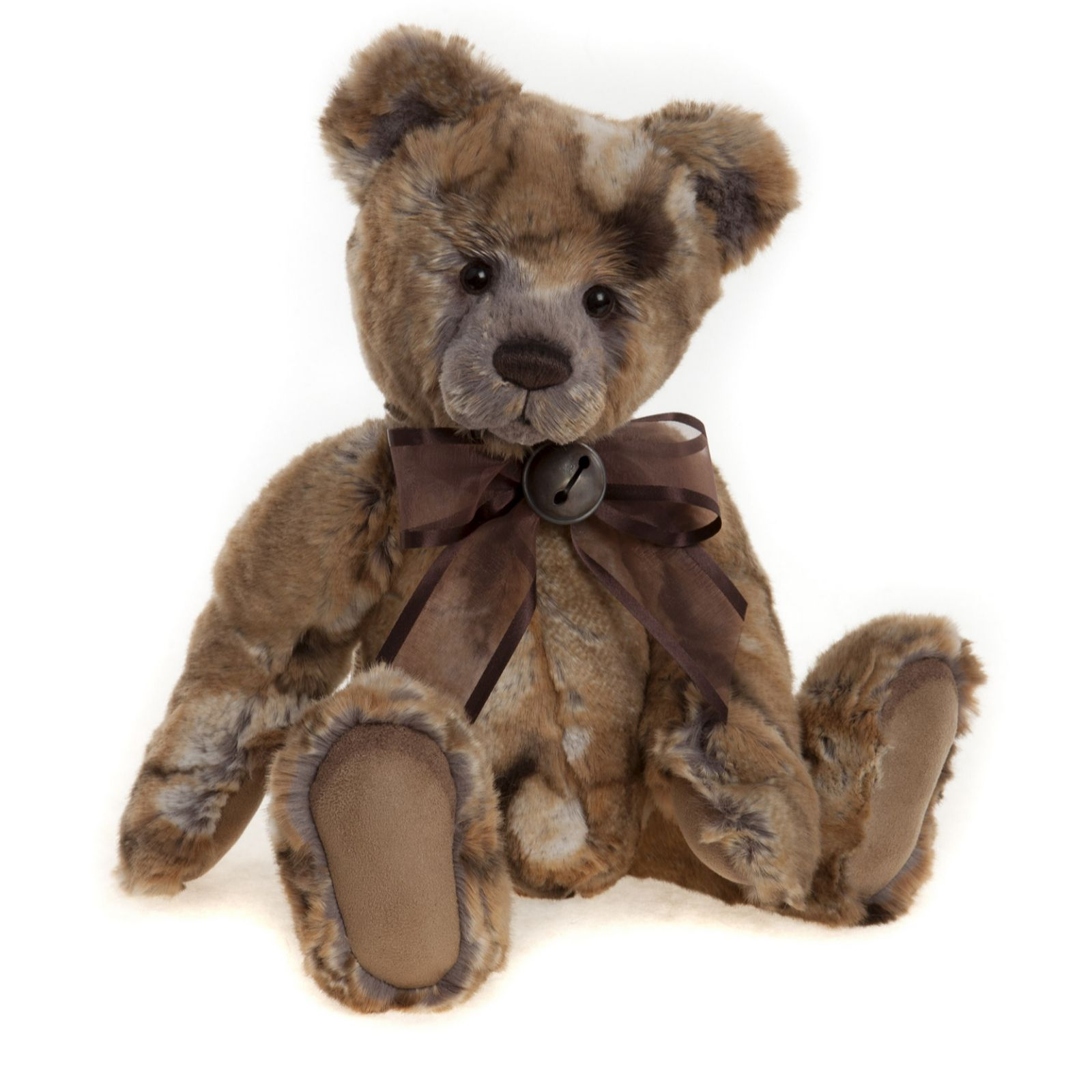 "Charlie Bears Collectable Jemima 13"" Plush Bear - 705289"