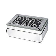 706089 - JM by Julien Macdonald Jewelled Mirrored Trinket Box