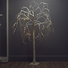 Alison Cork Pre-lit Sparkling Willow Tree