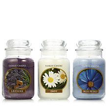 Yankee Candle Set of 3 Country Basket Large Jars