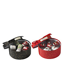 Yankee Candle Set of 2 Christmas Hat Box Gift Sets