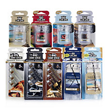 Yankee Candle Car Fragrance Collection