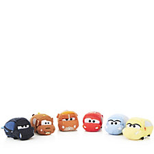 Disney Cars Set of 6 Tsum Tsums Collection