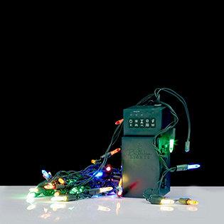 bethlehem lights battery operated 40 led light strand with timer. Black Bedroom Furniture Sets. Home Design Ideas