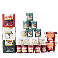 Yankee Candle 53 Piece Festive Cheer T-light & Votive Collection