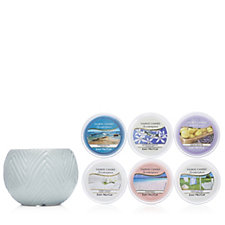 Yankee Candle Mia Scenterpiece with 6 Melt Cups