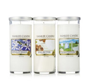Yankee Candle Set of 3 Fresh & Floral Tumblers