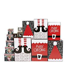 Lindy Bowman 14 Piece Christmas Gift Box Assortment