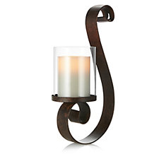 701999 - Bella Notte Wall Sconce with Flameless Candle