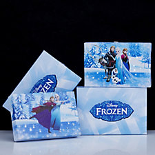 Set of 2 Frozen Musical & Illuminated Canvas Prints